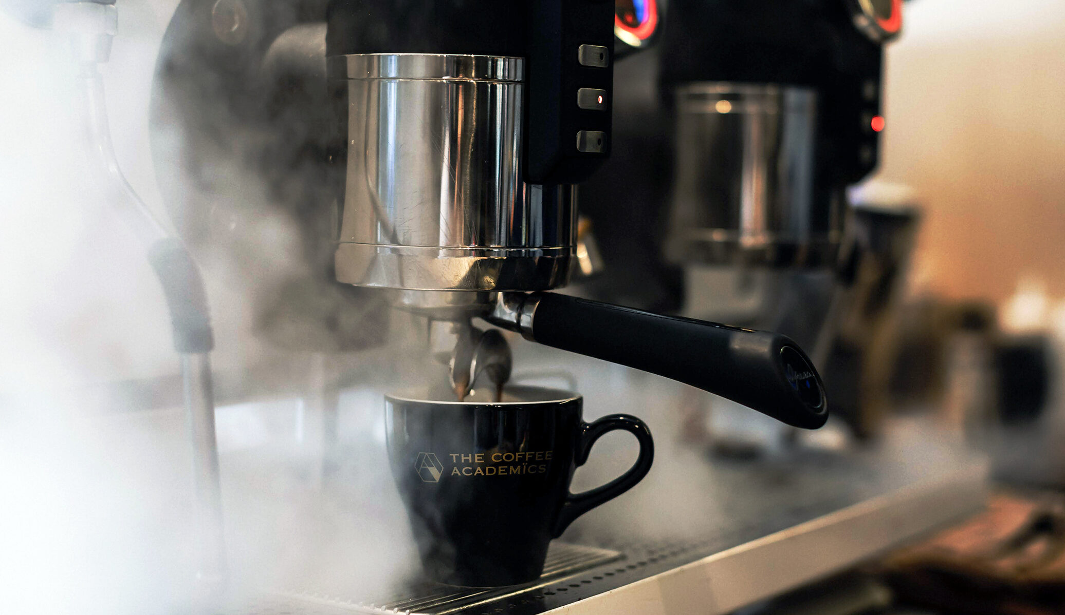 Espresso Machine and Branded Cup