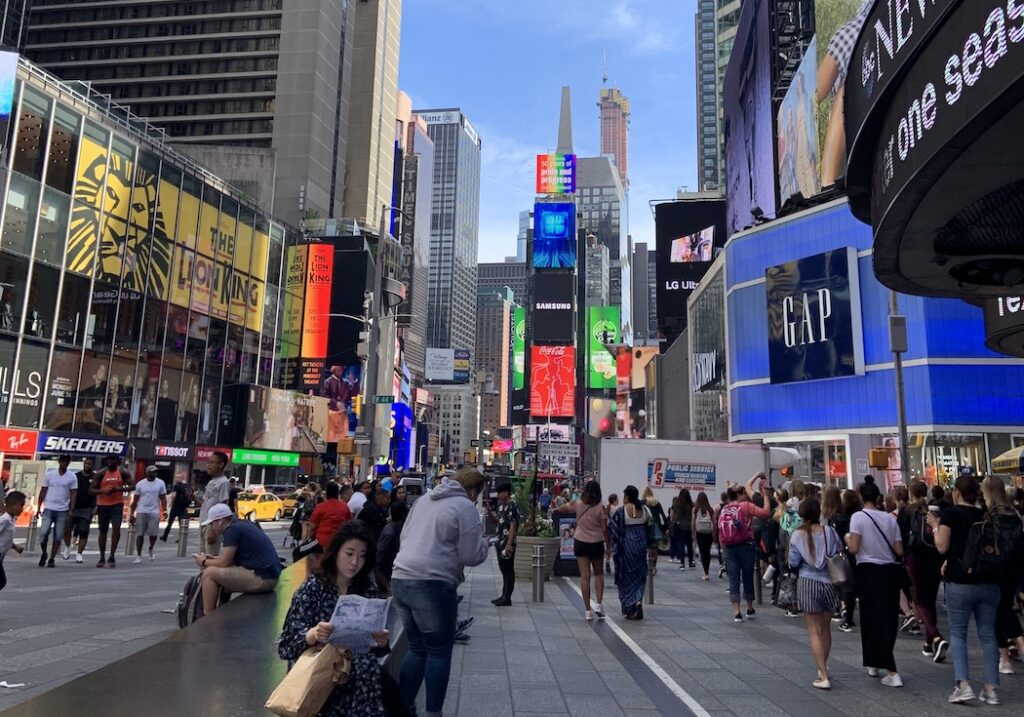 New York Itinerary- Times Square