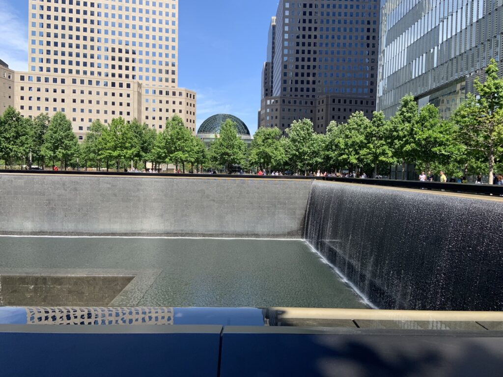 New York Itinerary - 9/11 Memorial