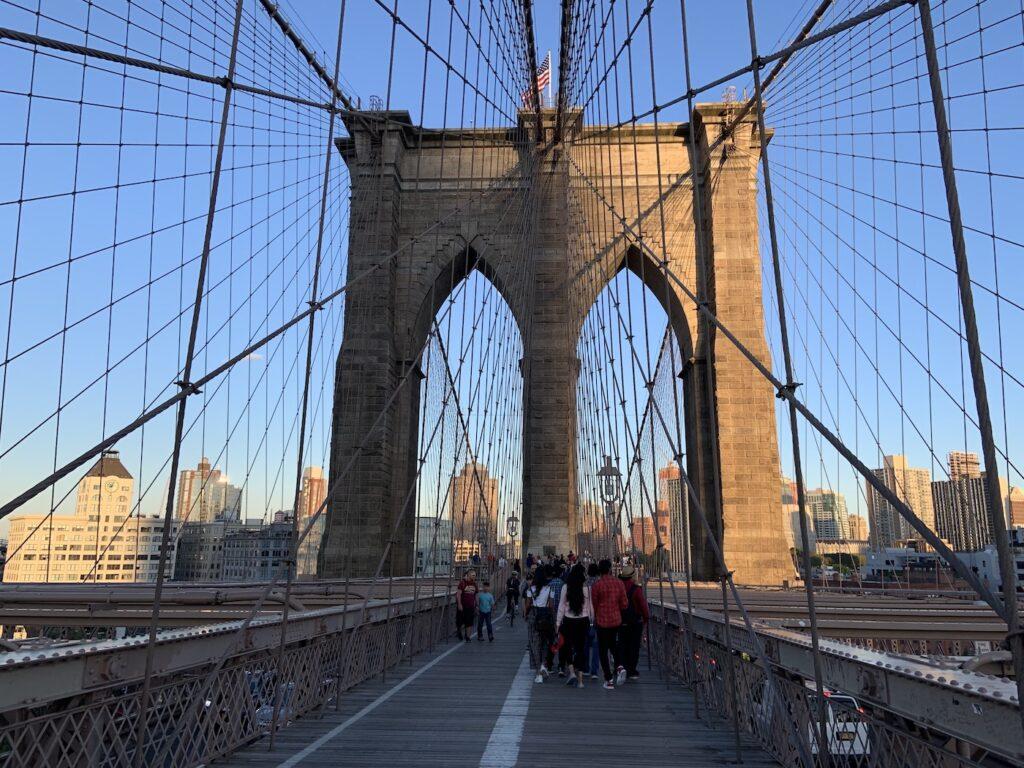 New York Itinerary- Brooklyn Bridge