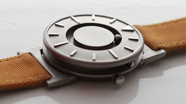 The Bradley Timepiece has been designed for blind people