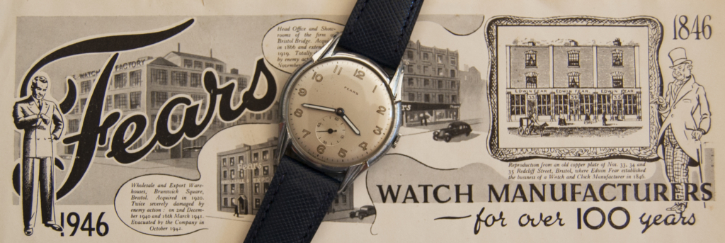 No FEARS For 'New' Watch Company