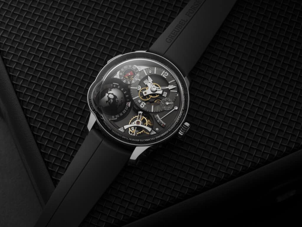 The Final GMT Earth From Greubel Forsey