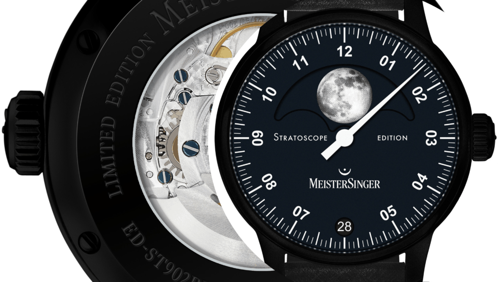 MeisterSinger Go Dark With Jet-Black Stratoscope