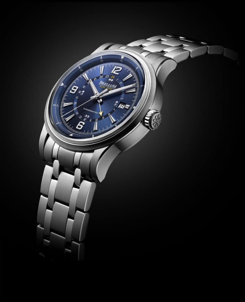 Take Control Of Time With The Brellum Wyvern GMT Chronometer