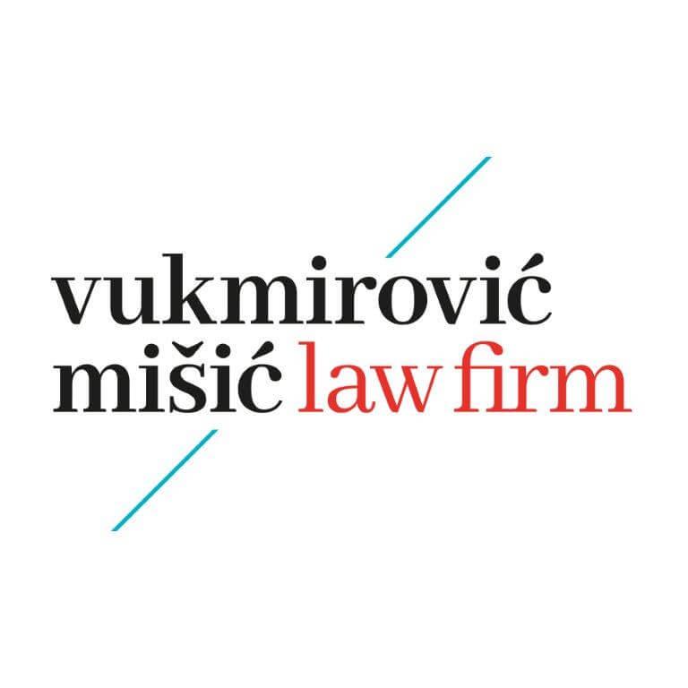 Vukmirović Mišić Law firm logo square