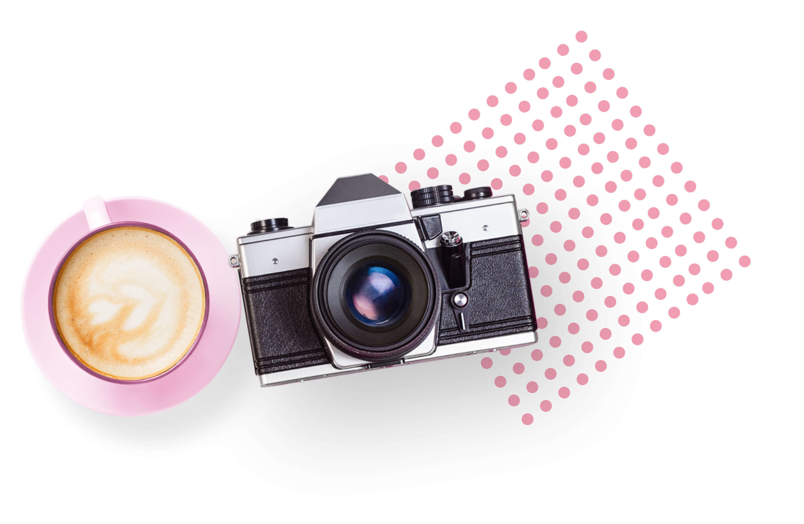 Camera and Latte