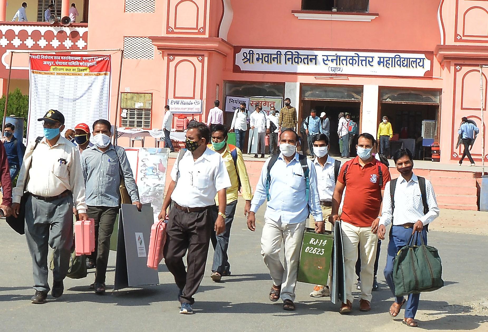 94 ग्राम पंचायतों में होगा 6 अक्टूबर को मतदान Kotputli News
