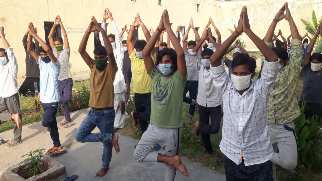 yoga in jail