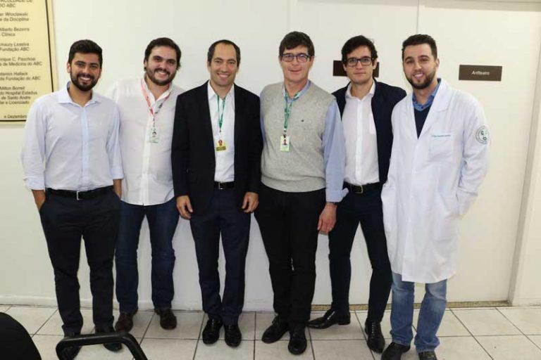 Equipe da Disciplina de Urologia e do ambulatório de câncer de bexiga da FMABC