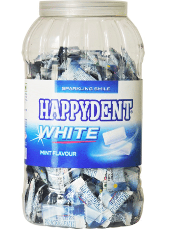benefits of | happydent | chewing gum