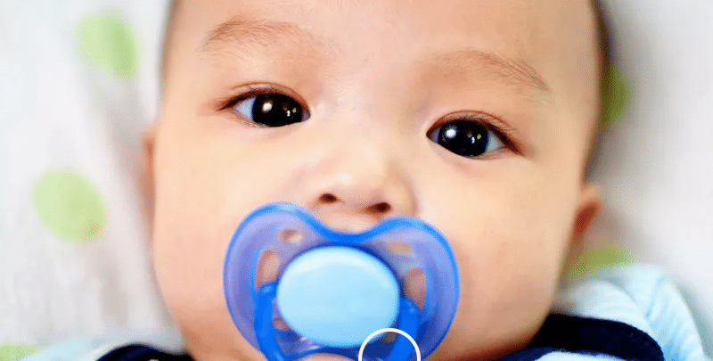 Pacifiers cause cavities in kids
