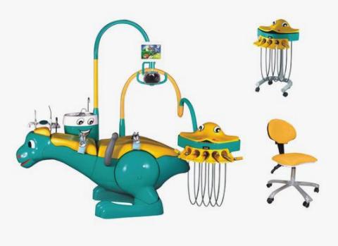 A Pediatric dental clinic has special dental equipment for kids