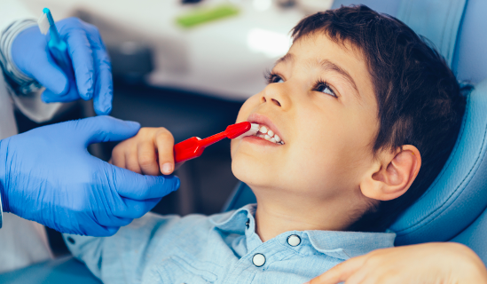 Talk to the pediatric dentist beforehand