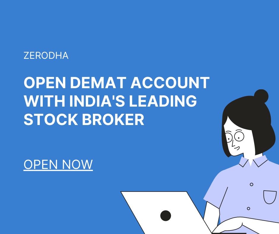 Zerodha Demat Account Opening