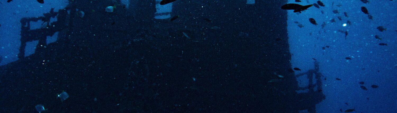 Wreck scuba course