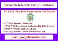 AP VRO Jobs Recruitment Notification