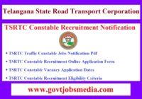 TSRTC Constable Recruitment Notification