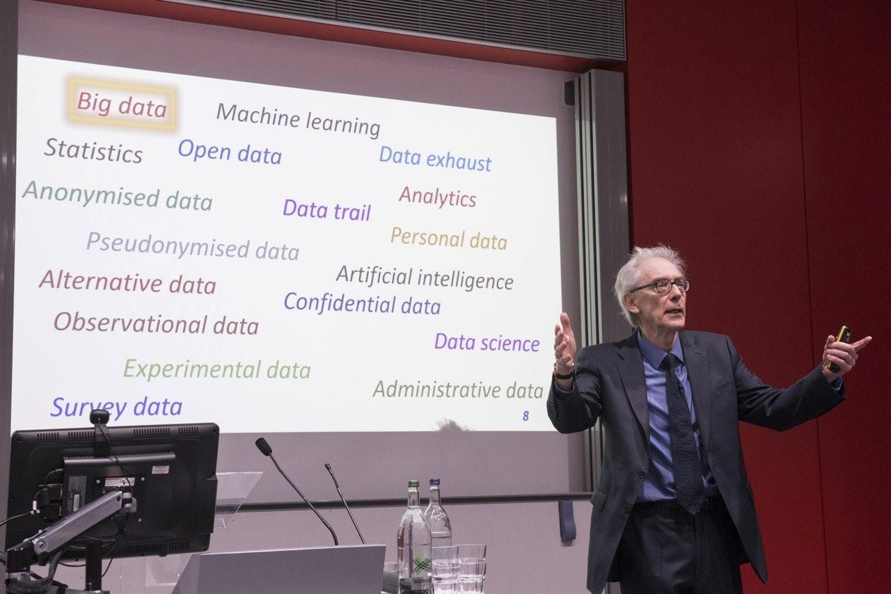 David J Hand, Emeritus Professor of Mathematics and Senior Research Investigator, Imperial College London
