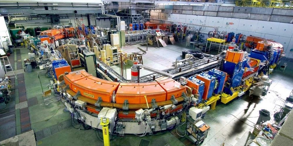Tour of LEIR (Low Energy Ion Ring) at CERN