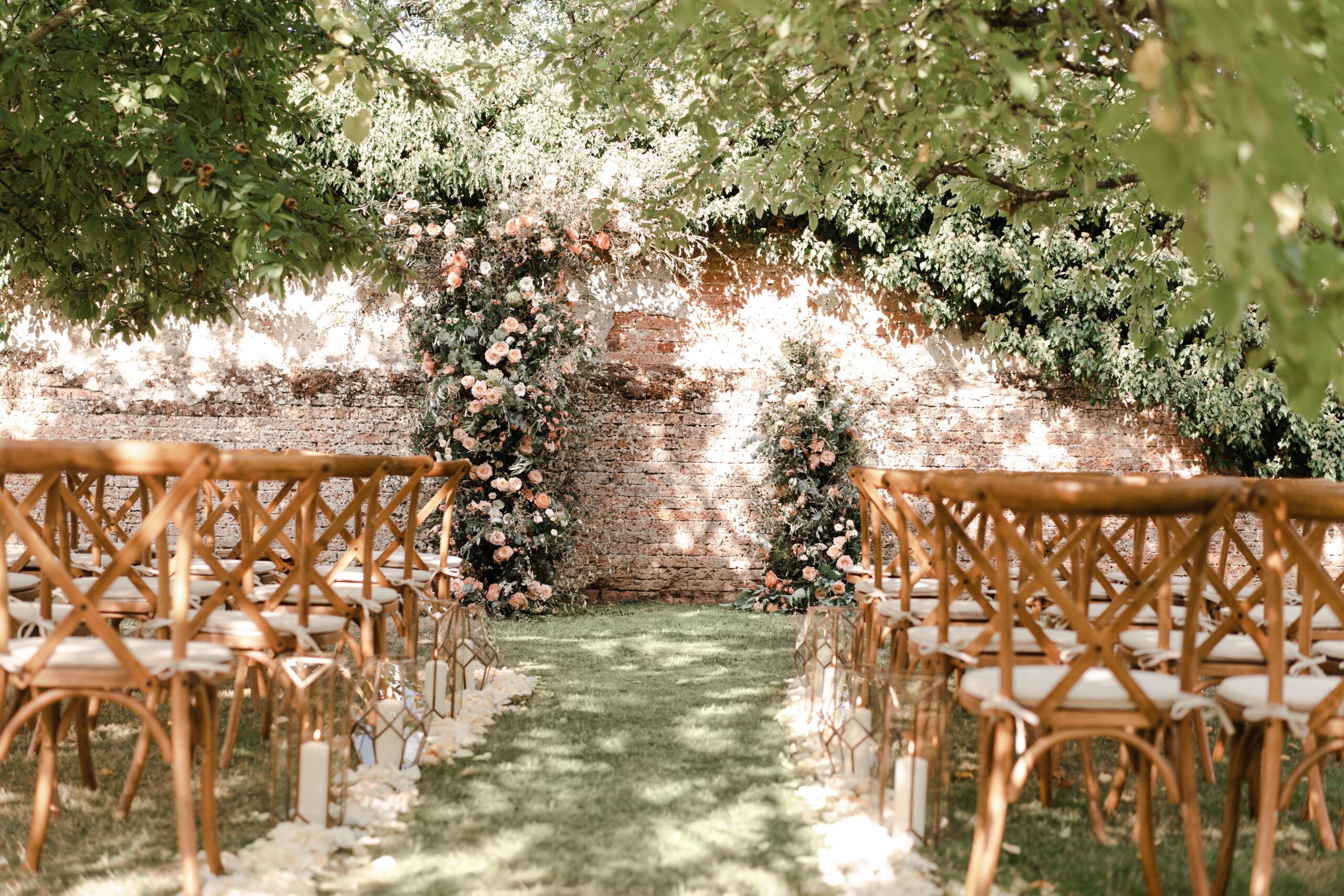 Orchard Wedding Ceremony