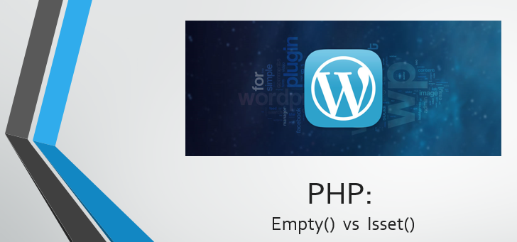 PHP Isset() and Empty()
