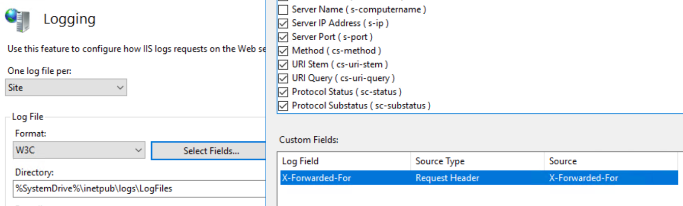 Enable Client IP Logging in Exchange 2016 with F5 Load Balancer