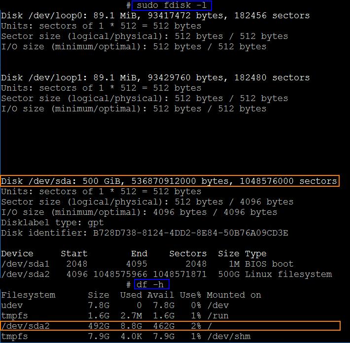 Expand Ubuntu disk after adding additional disk space in Hyper-V