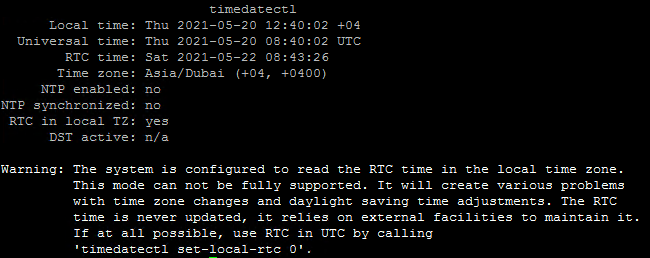 Update Date, Time, Timezone on Ubuntu