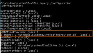 w32 query configuration