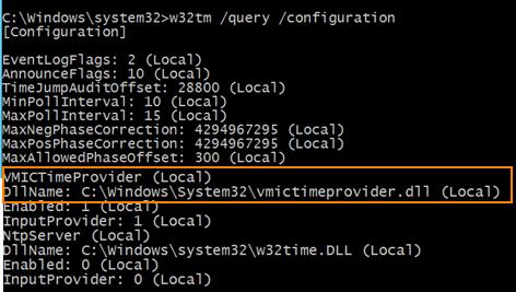 Time Synchronization Problem in Hyper-V Host