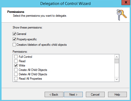 Delegate Move Computer Objects from one OU to another