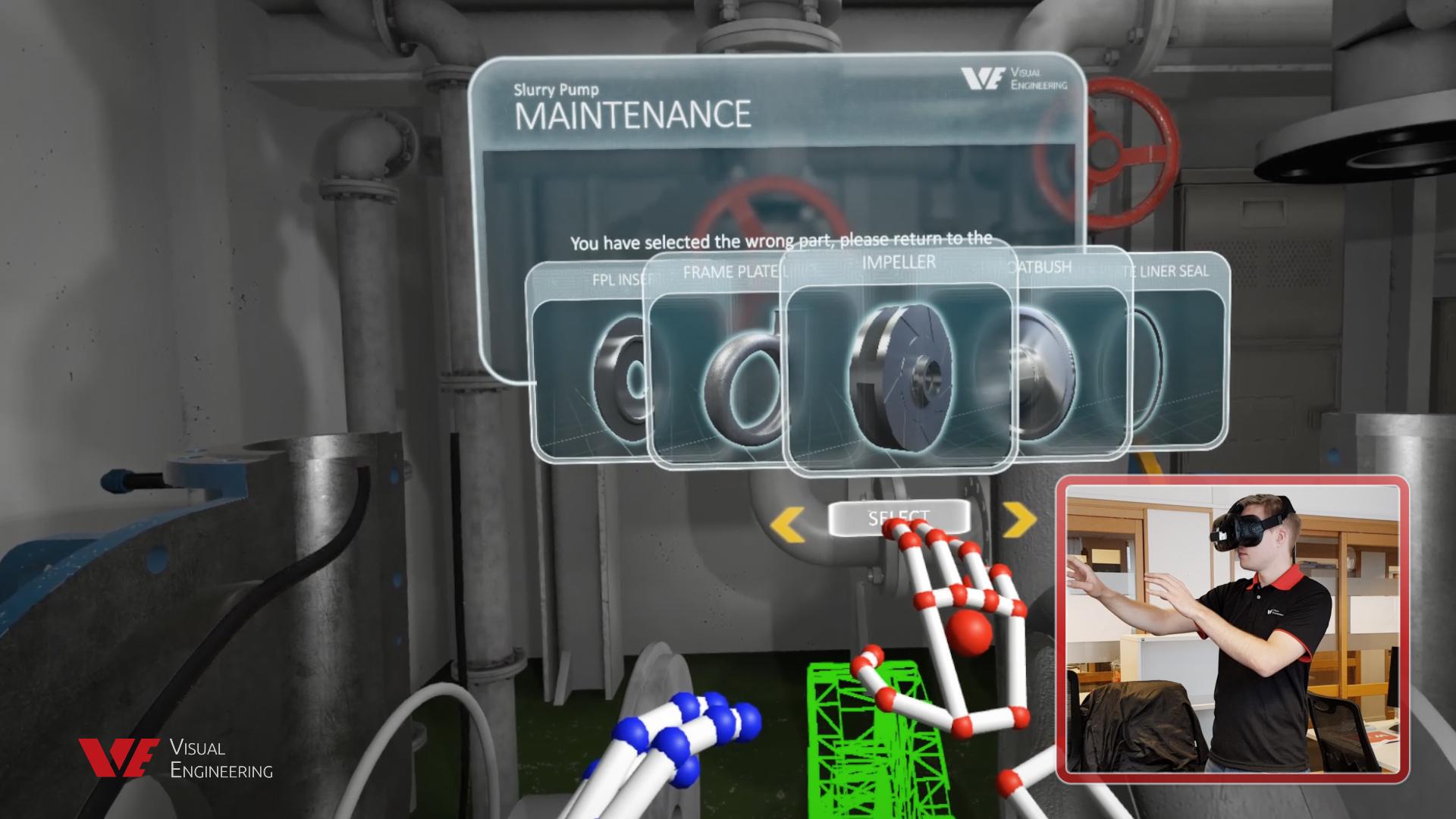 Immersive Maintenance Training