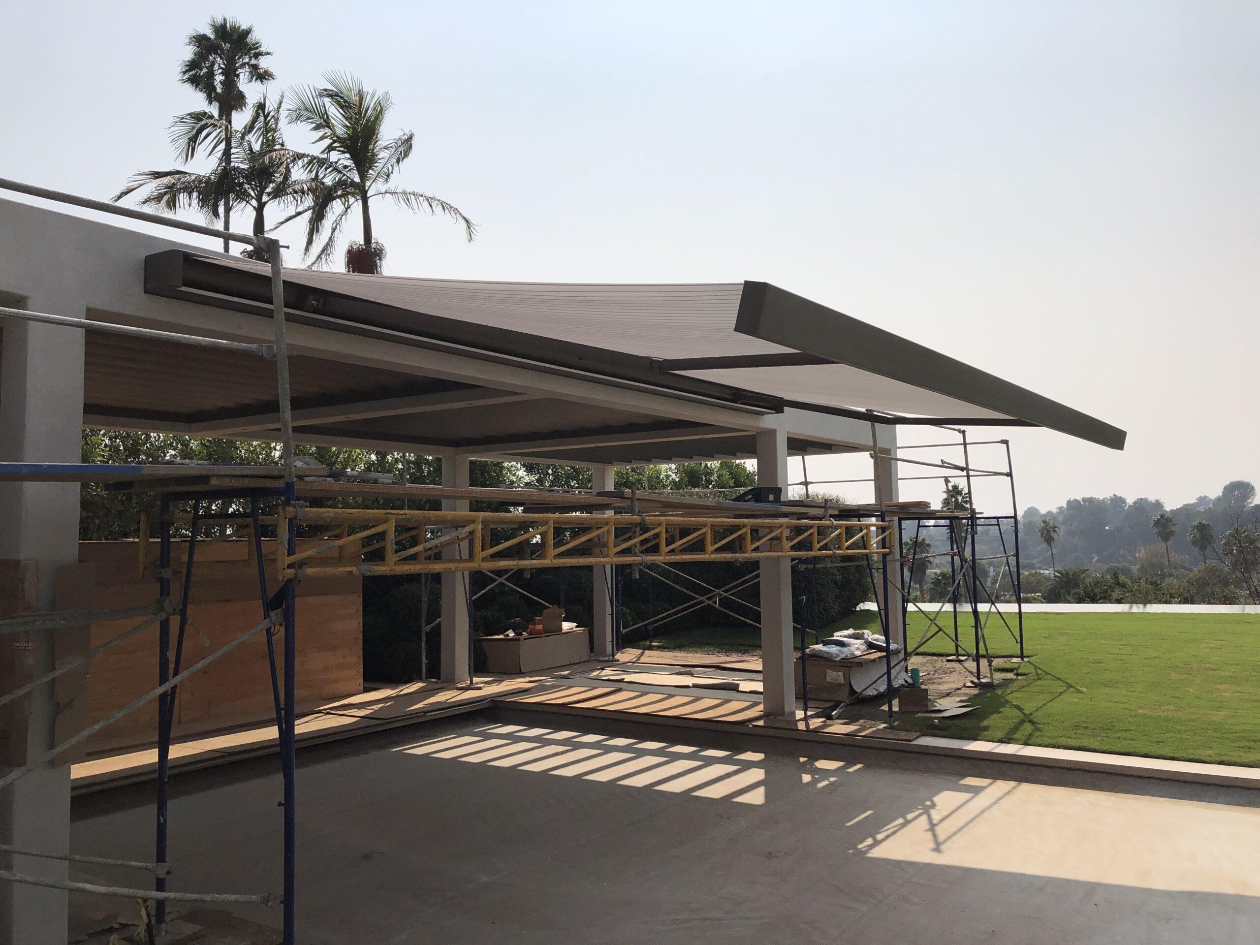 Villa Rockingham - WAREMA K70 - pool area
