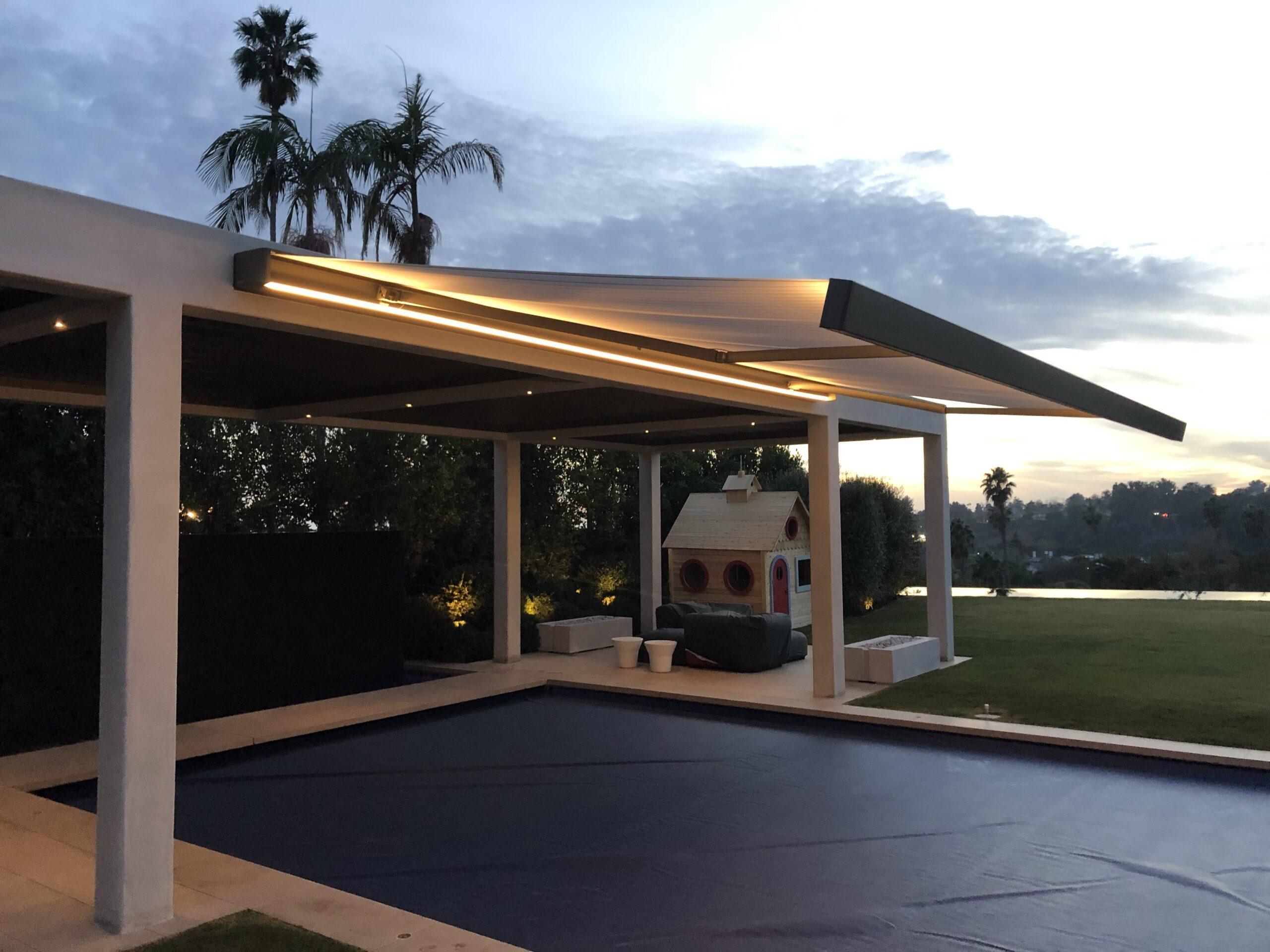Villa Rockingham - Cassette Awning K70 night