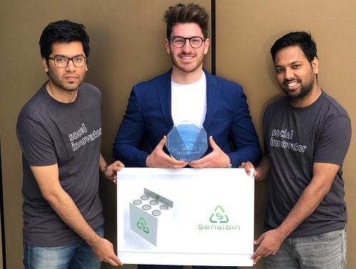 Sensibin scoops another award in San Diego