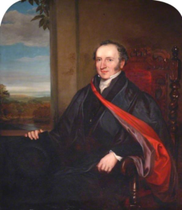 Portrait of the Rev. Canon Henry Jenkyns, Professor of Greek and Classical Literature 1832-1840, by Clement Burlison (Durham University)