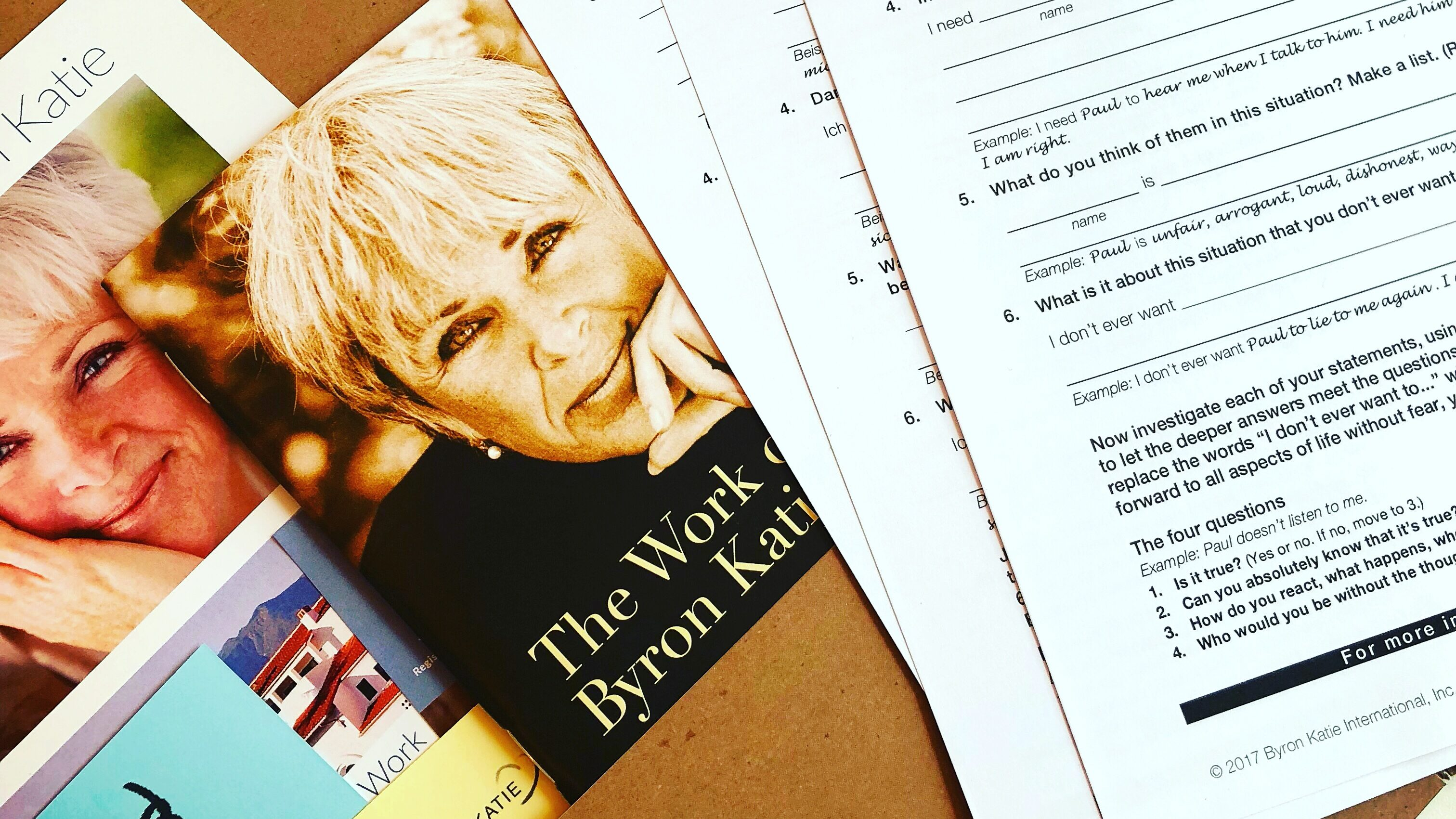 Best selling author and speaker Byron Katie in Vienna