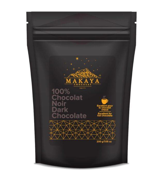 Makaya Chocolat - 100% Dark Chocolate 200g