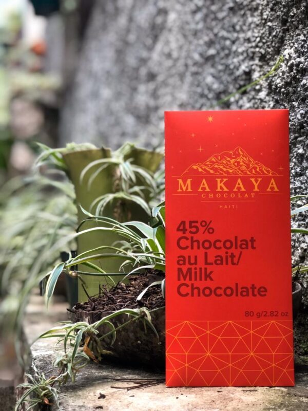 Makaya Chocolat - 45% White Chocolat