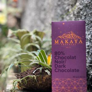 Makaya Chocolat - 80% Dark Chocolat