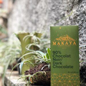 Makaya Chocolat - 90% Dark Chocolat