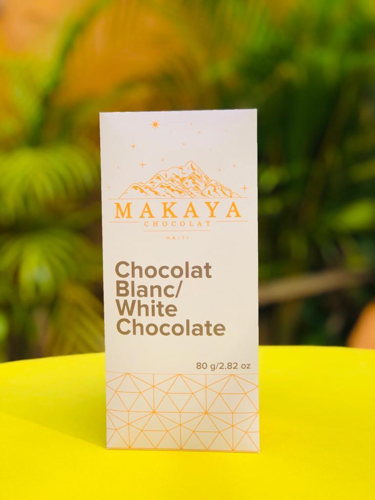 Makaya Chocolat - White Chocolate 80 g