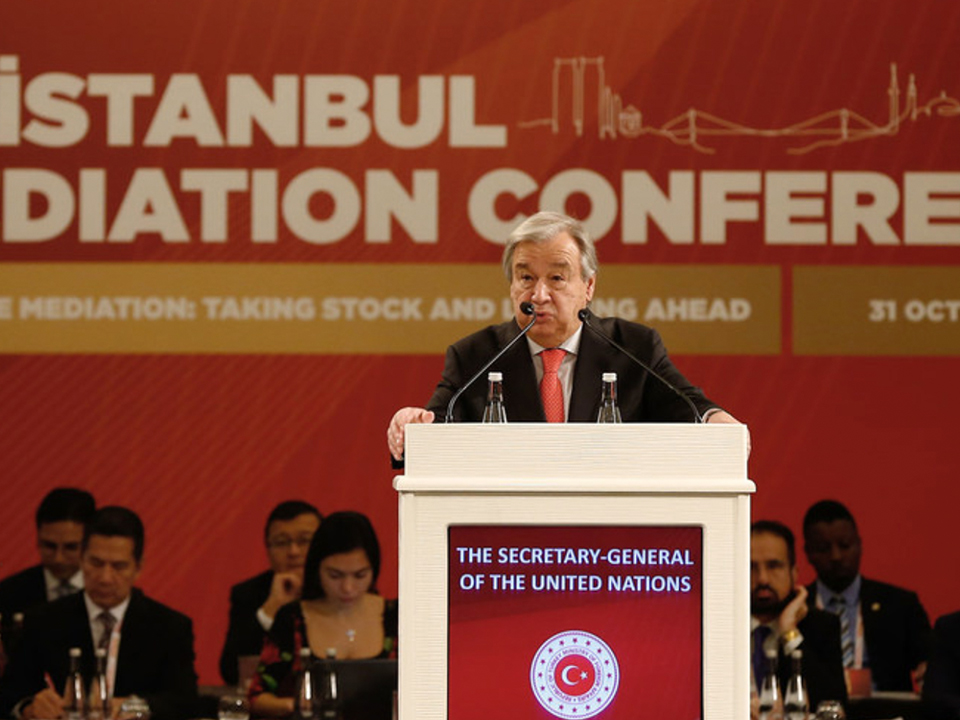 Syria's groundbreaking constitutional talks a clear success of mediation says Guterres in Turkey