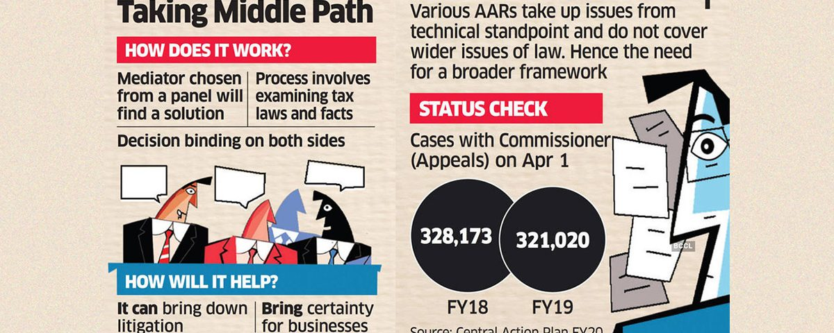 Govt Mulls move for Mediation to resolve Tax disputes in India