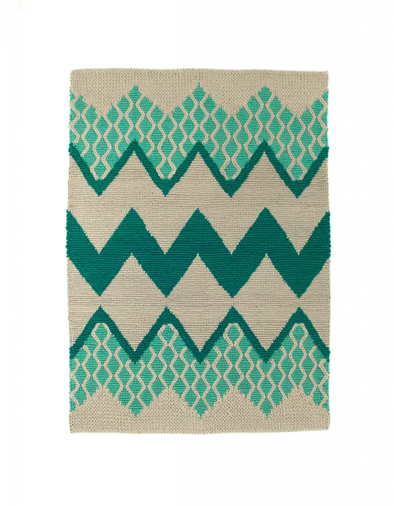 Fairisle Rug In Mineral Grey By Donna Wilson Scp Cover