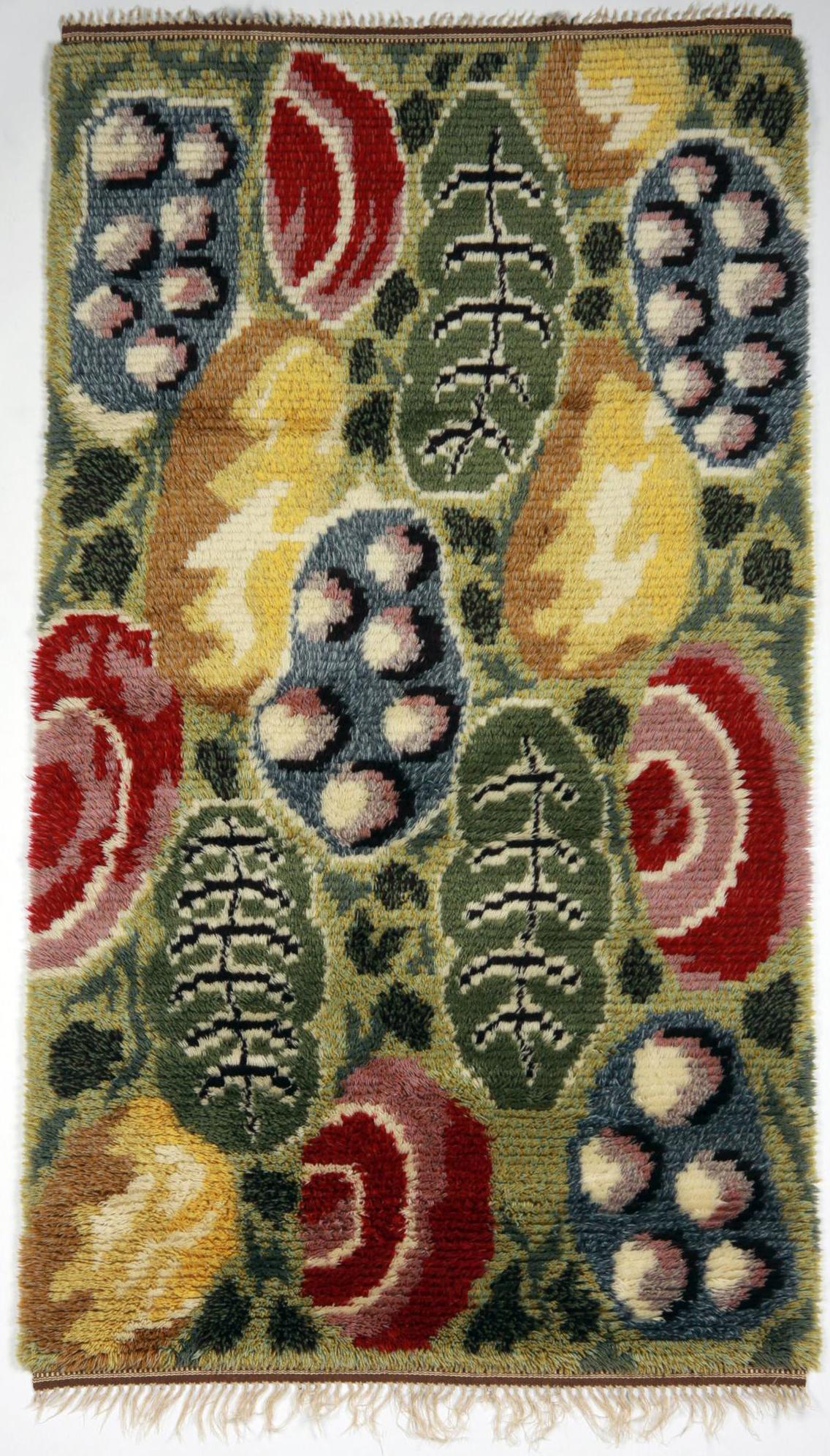 Josef Frank rya rug for Svensk Tenn. Photograph courtesy of Modernity.