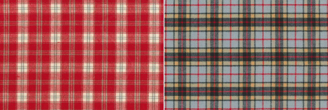 Westfalenhoffe flannels in Edinburgh patterns
