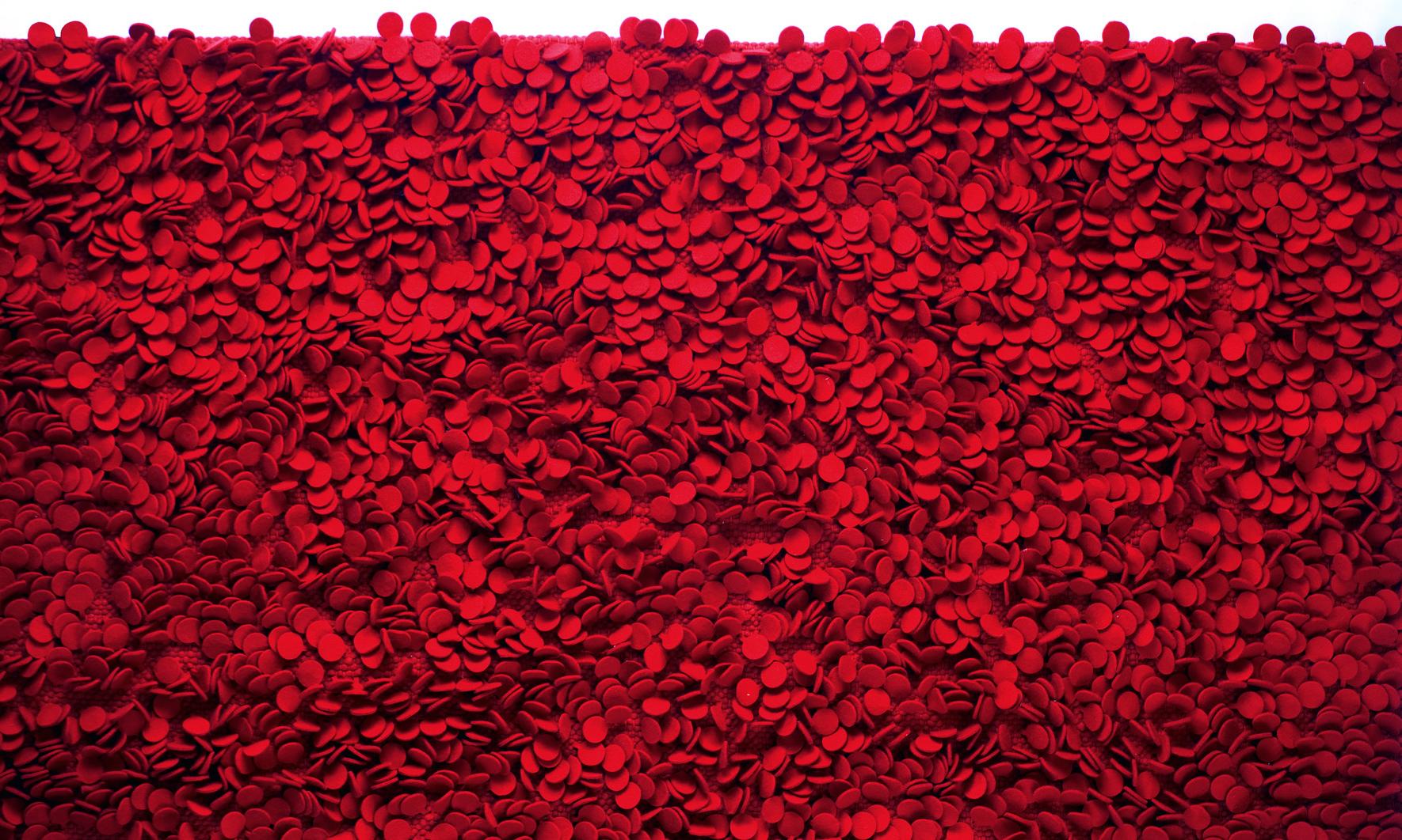 Rosas rug (detail) by nanimarquina