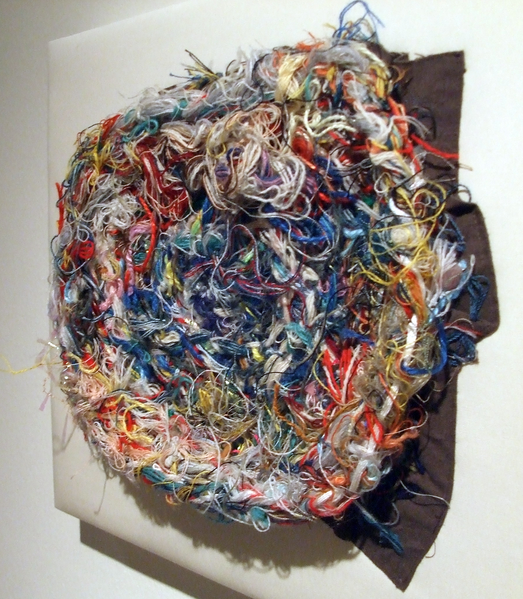Satoshi Morita, Untitled, undated, wool, acrylic, cotton yarns, cotton. Social Welfare Corporation, Yamanami Atelier